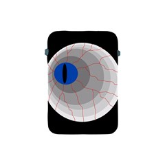 Blue Eye Apple Ipad Mini Protective Soft Cases by Valentinaart