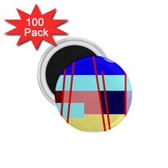 Abstract Landscape 1 75  Magnets (100 Pack)  by Valentinaart
