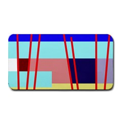 Abstract Landscape Medium Bar Mats by Valentinaart
