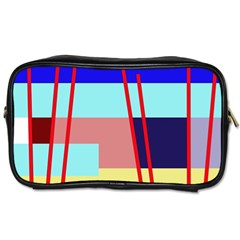 Abstract Landscape Toiletries Bags 2 Side by Valentinaart