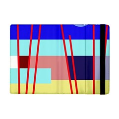 Abstract Landscape Apple Ipad Mini Flip Case by Valentinaart