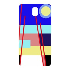Abstract Landscape Samsung Galaxy Note 3 N9005 Hardshell Back Case by Valentinaart