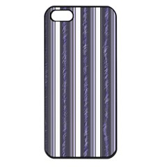 Elegant Lines Apple Iphone 5 Seamless Case (black) by Valentinaart