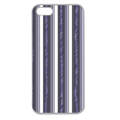 Elegant Lines Apple Seamless Iphone 5 Case (clear) by Valentinaart