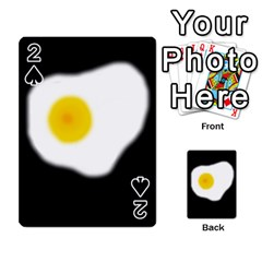 Egg Playing Cards 54 Designs  by Valentinaart