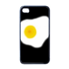 Egg Apple Iphone 4 Case (black) by Valentinaart