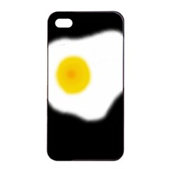 Egg Apple Iphone 4/4s Seamless Case (black) by Valentinaart