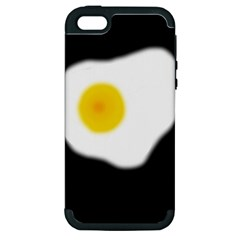 Egg Apple Iphone 5 Hardshell Case (pc+silicone) by Valentinaart