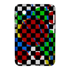 Colorful Abstraction Samsung Galaxy Tab 2 (7 ) P3100 Hardshell Case  by Valentinaart
