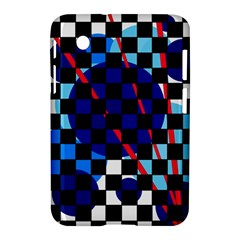 Blue Abstraction Samsung Galaxy Tab 2 (7 ) P3100 Hardshell Case