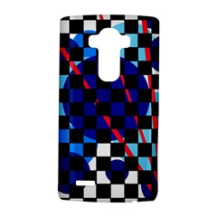 Blue Abstraction Lg G4 Hardshell Case by Valentinaart