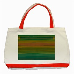 Watercolors                                                                                      			classic Tote Bag (red) by LalyLauraFLM