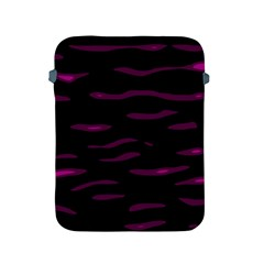 Purple And Black Apple Ipad 2/3/4 Protective Soft Cases