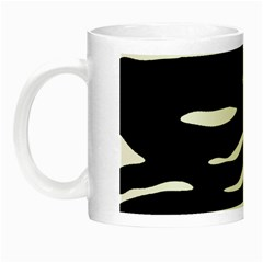 Black And White Night Luminous Mugs by Valentinaart
