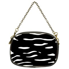 Black And White Chain Purses (one Side)  by Valentinaart