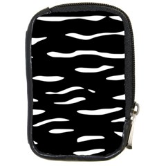Black And White Compact Camera Cases by Valentinaart