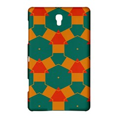 Honeycombs And Triangles Pattern                                                                                      			samsung Galaxy Tab S (8 4 ) Hardshell Case by LalyLauraFLM