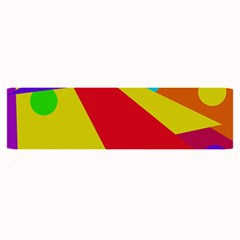 Colorful Abstract Design Large Bar Mats by Valentinaart