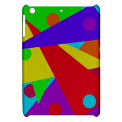 Colorful Abstract Design Apple Ipad Mini Hardshell Case by Valentinaart