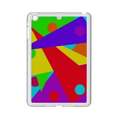 Colorful Abstract Design Ipad Mini 2 Enamel Coated Cases by Valentinaart