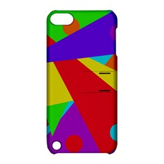 Colorful Abstract Design Apple Ipod Touch 5 Hardshell Case With Stand by Valentinaart