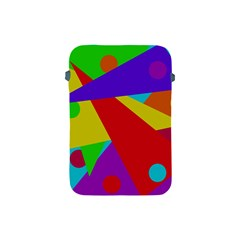 Colorful Abstract Design Apple Ipad Mini Protective Soft Cases by Valentinaart