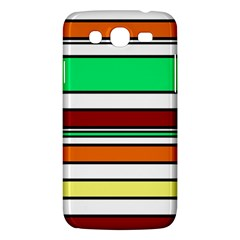 Green, Orange And Yellow Lines Samsung Galaxy Mega 5 8 I9152 Hardshell Case  by Valentinaart