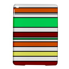 Green, Orange And Yellow Lines Ipad Air 2 Hardshell Cases by Valentinaart