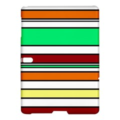Green, Orange And Yellow Lines Samsung Galaxy Tab S (10 5 ) Hardshell Case