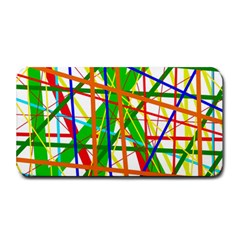 Colorful Lines Medium Bar Mats by Valentinaart
