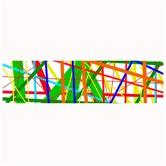 Colorful Lines Large Bar Mats by Valentinaart