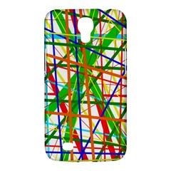 Colorful Lines Samsung Galaxy Mega 6 3  I9200 Hardshell Case by Valentinaart