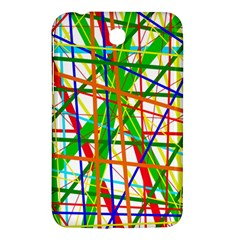 Colorful Lines Samsung Galaxy Tab 3 (7 ) P3200 Hardshell Case  by Valentinaart