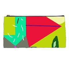 Abstract Bird Pencil Cases by Valentinaart