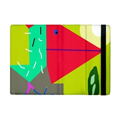 Abstract Bird Ipad Mini 2 Flip Cases by Valentinaart