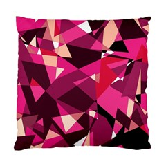 Red Broken Glass Standard Cushion Case (one Side) by Valentinaart