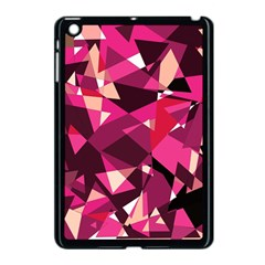 Red Broken Glass Apple Ipad Mini Case (black) by Valentinaart