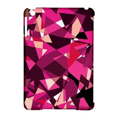 Red Broken Glass Apple Ipad Mini Hardshell Case (compatible With Smart Cover) by Valentinaart