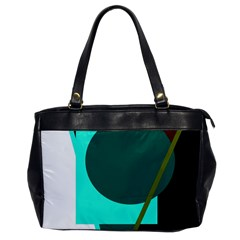 Geometric Abstract Design Office Handbags