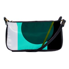Geometric Abstract Design Shoulder Clutch Bags by Valentinaart