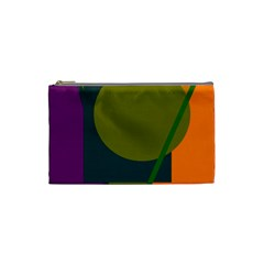 Geometric Abstraction Cosmetic Bag (small)  by Valentinaart