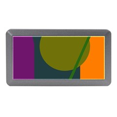 Geometric Abstraction Memory Card Reader (mini) by Valentinaart