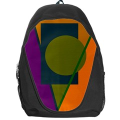 Geometric Abstraction Backpack Bag by Valentinaart