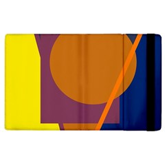 Geometric Abstract Desing Apple Ipad 2 Flip Case by Valentinaart