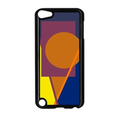 Geometric Abstract Desing Apple Ipod Touch 5 Case (black) by Valentinaart