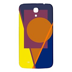 Geometric Abstract Desing Samsung Galaxy Mega I9200 Hardshell Back Case by Valentinaart