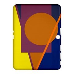 Geometric Abstract Desing Samsung Galaxy Tab 4 (10 1 ) Hardshell Case  by Valentinaart