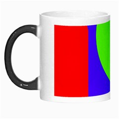 Colorful Geometric Design Morph Mugs by Valentinaart