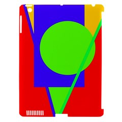 Colorful Geometric Design Apple Ipad 3/4 Hardshell Case (compatible With Smart Cover) by Valentinaart