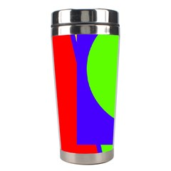 Colorful Geometric Design Stainless Steel Travel Tumblers